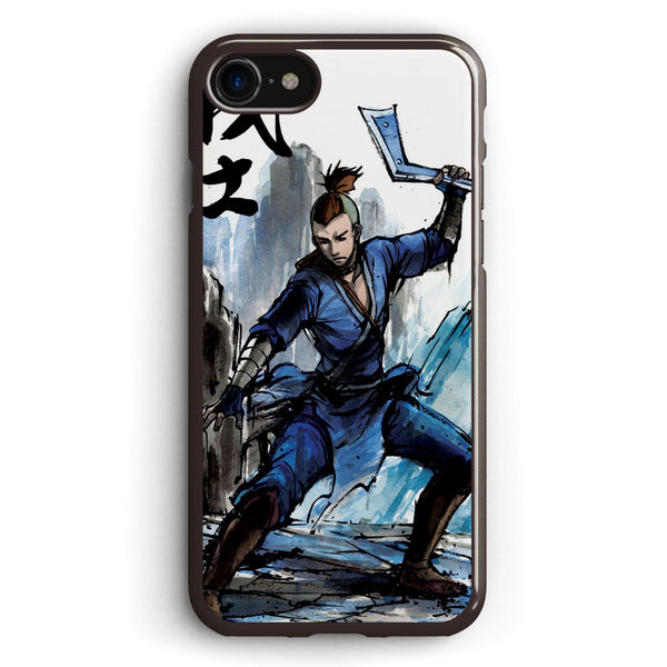 Sokka from Avatar Sumi and Watercolor with Calligraphy Apple iPhone 7 Case Cover ISVF889