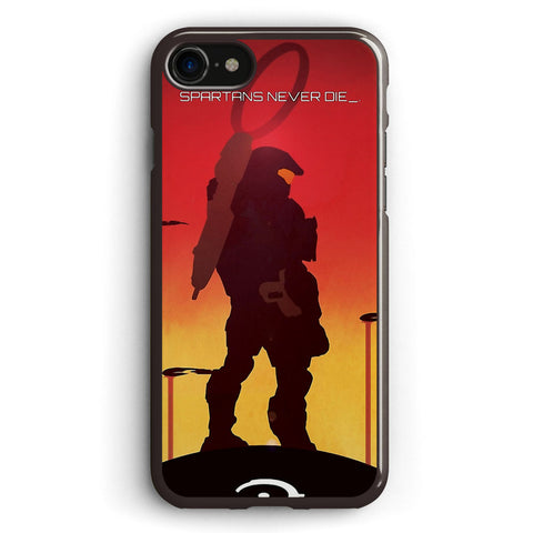 Spartan's Never Die Halo Apple iPhone 7 Case Cover ISVF891