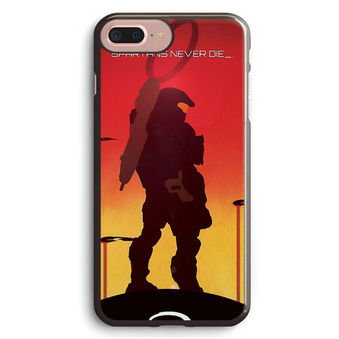 Spartan's Never Die Halo Apple iPhone 7 Plus Case Cover ISVF891
