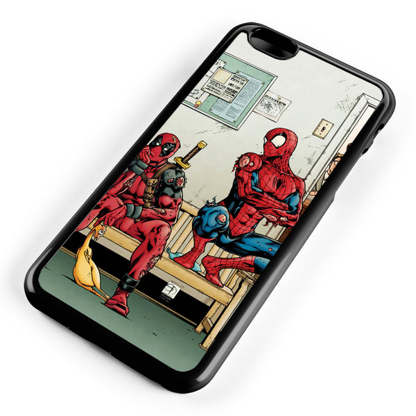 Spider Man and Deadpool Get Sent to the Principal's Office Apple iPhone 6 Plus / iPhone 6s Plus ISVA049