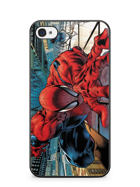 Spiderman Climb the Wall Apple iPhone 4 / iPhone 4S Case Cover ISVA251