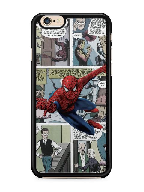 Spiderman Comic Strip Apple iPhone 6 / iPhone 6s Case Cover ISVA334