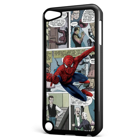 Spiderman Comic Strip Apple iPod Touch 5 Case Cover ISVA334