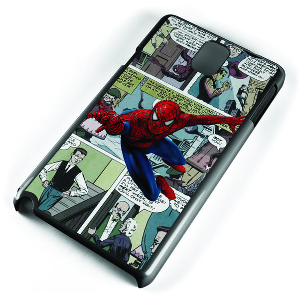 Spiderman Comic Strip Samsung Galaxy Note 3 Case Cover ISVA334
