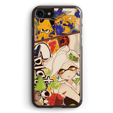 Splatoon Time for Fun Apple iPhone 7 Case Cover ISVD696