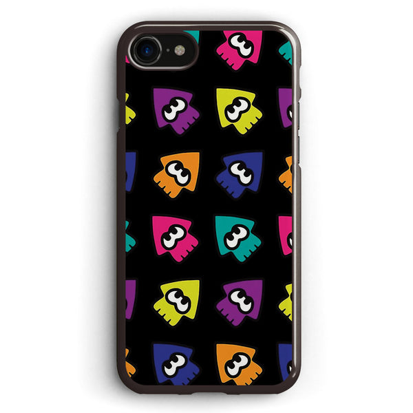 Splatoon Style Squids Apple iPhone 7 Case Cover ISVF427