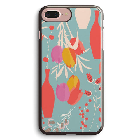 Spring Flower Pattern, Tulips and Lilies Apple iPhone 7 Plus Case Cover ISVG796