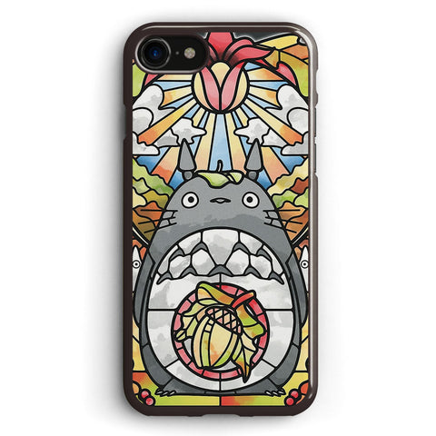 Stained Glass Forest Spirit Apple iPhone 7 Case Cover ISVH218