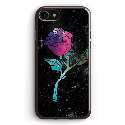Stained Glass Rose Galaxy Apple iPhone 7 Case Cover ISVC460