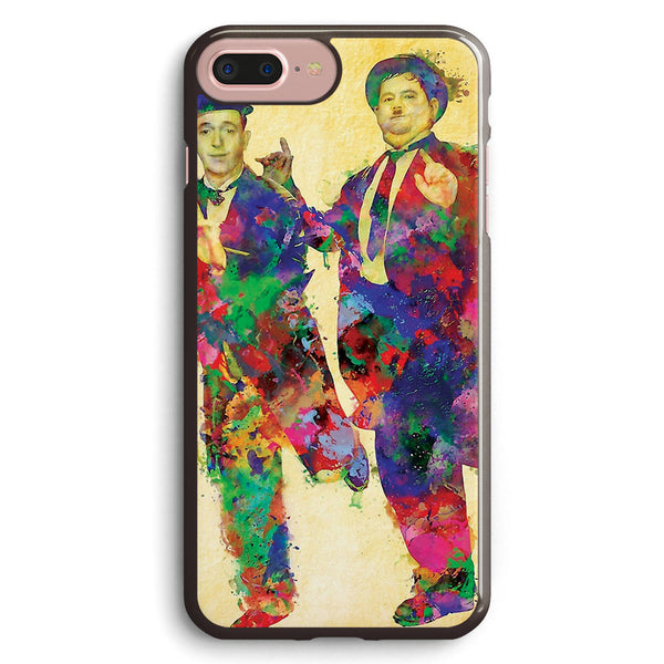 Stan Laurel and Oliver Hardy Apple iPhone 7 Plus Case Cover ISVC461