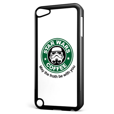Star Wars Coffee May the Froth Be with You Apple iPod Touch 5 Case Cover ISVA094