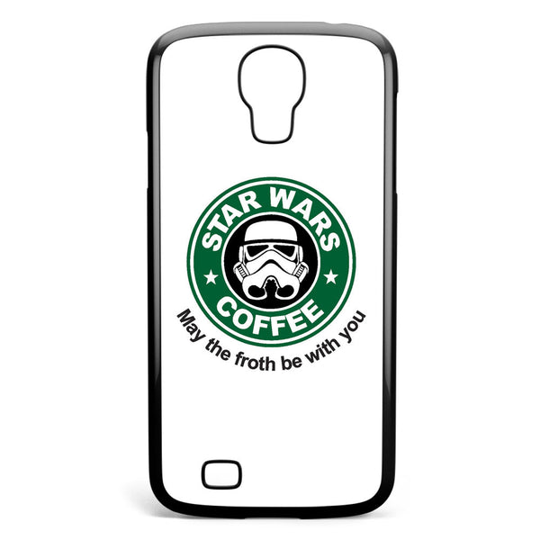 Star Wars Coffee May the Froth Be with You Samsung Galaxy S4 Case Cover ISVA094