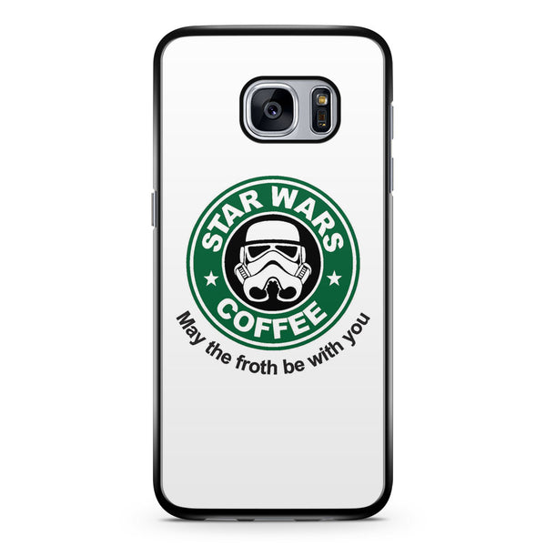 Star Wars Coffee May the Froth Be with You Samsung Galaxy S7 Case Cover ISVA094