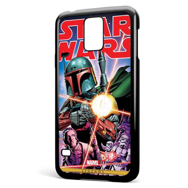 Star Wars Comic Poster Samsung Galaxy S5 Case Cover ISVA353