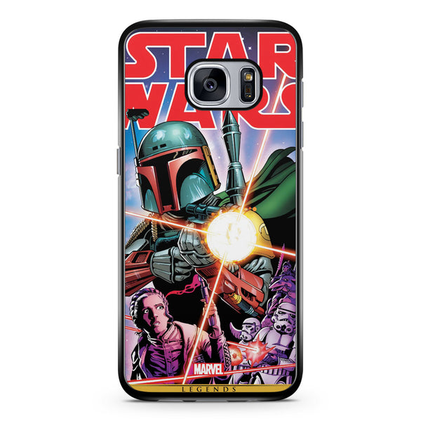 Star Wars Comic Poster Samsung Galaxy S7 Case Cover ISVA353