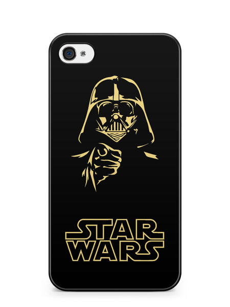 Star Wars Darth Vader Silhouette Apple iPhone 4 / iPhone 4S Case Cover ISVA215