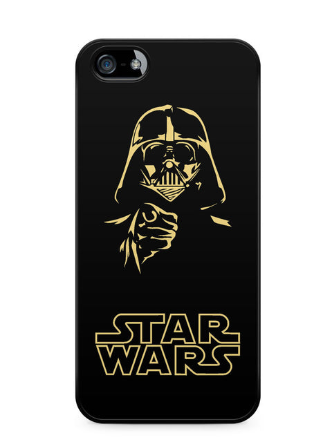 Star Wars Darth Vader Silhouette Apple iPhone SE / iPhone 5 / iPhone 5s Case Cover  ISVA215
