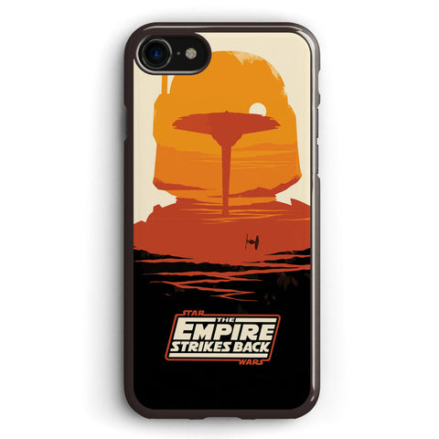 Star Wars Empire Strikes Back Poster Apple iPhone 7 Case Cover ISVD062