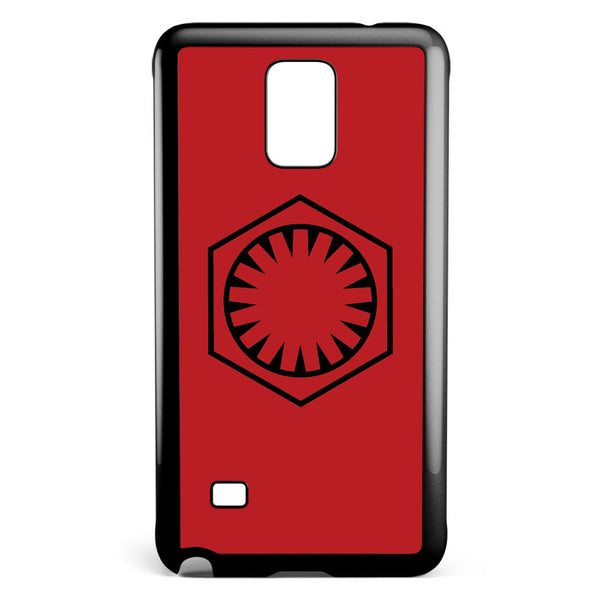 Star Wars First Order Logo Samsung Galaxy Note 4 Case Cover ISVA093