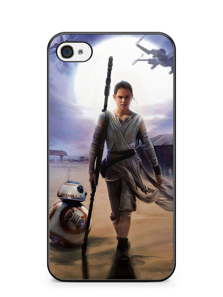 Star Wars Galaxy Rey Apple iPhone 4 / iPhone 4S Case Cover ISVA615
