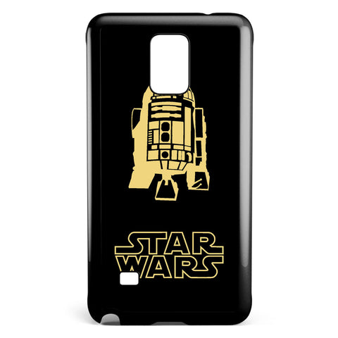 Star Wars R2d2 Silhouette Samsung Galaxy Note 4 Case Cover ISVA213