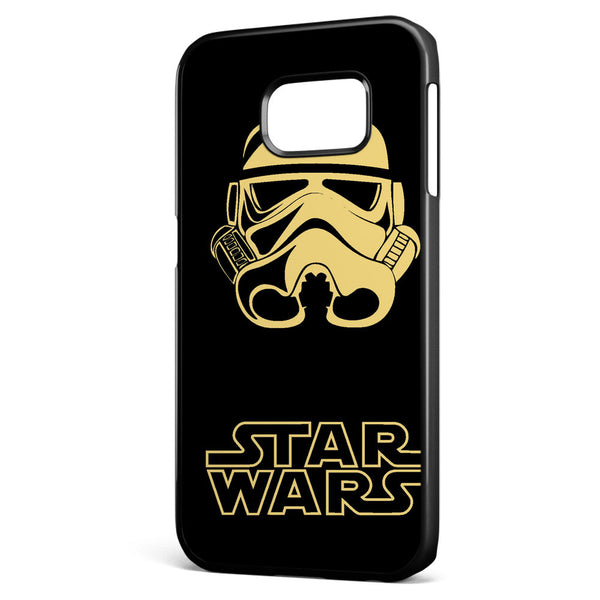 Star Wars Stormtrooper Silhouette Samsung Galaxy S6 Edge Case Cover ISVA214