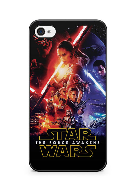 Star Wars the Force Awaken Poster Apple iPhone 4 / iPhone 4S Case Cover ISVA077