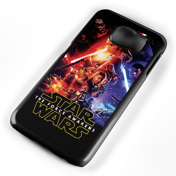 Star Wars the Force Awaken Poster Samsung Galaxy S6 Case Cover ISVA077