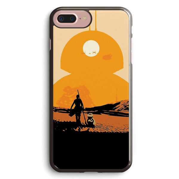 Star Wars the Force Awakens Bb8 Poster Apple iPhone 7 Plus Case Cover ISVF435