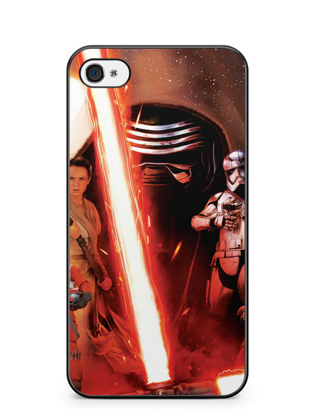 Star Wars the Force Awakens Poster Apple iPhone 4 / iPhone 4S Case Cover ISVA611