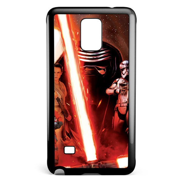 Star Wars the Force Awakens Poster Samsung Galaxy Note 4 Case Cover ISVA611