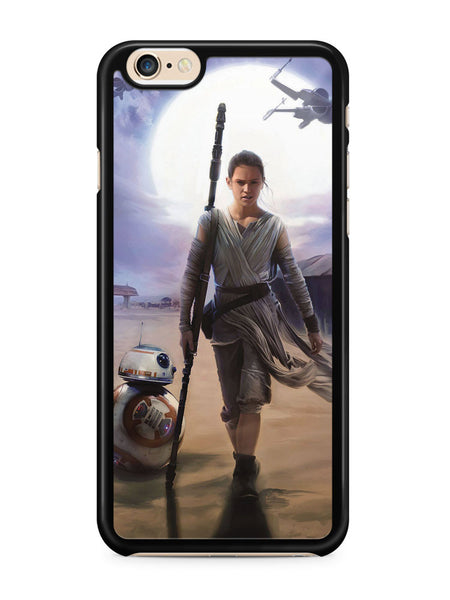 Star Wars the Force Awakens Rey Apple iPhone 6 / iPhone 6s Case Cover ISVA568