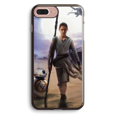 Star Wars the Force Awakens Rey Apple iPhone 7 Plus Case Cover ISVA568