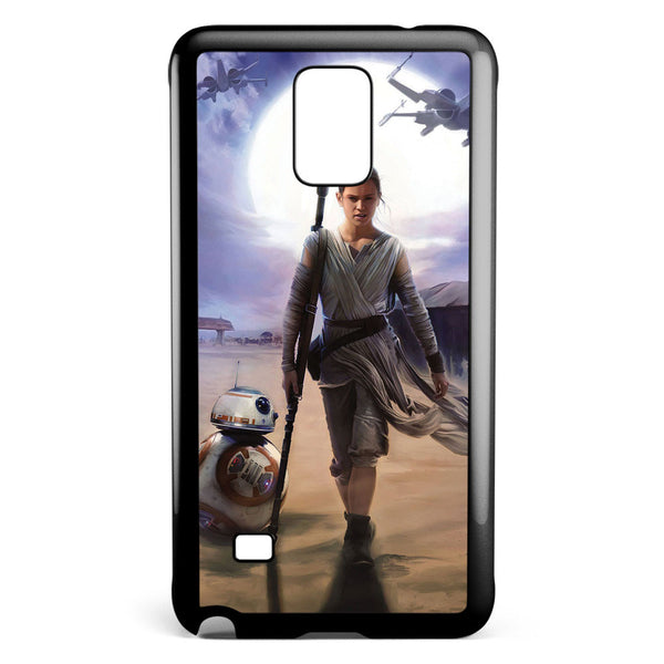 Star Wars the Force Awakens Rey Samsung Galaxy Note 4 Case Cover ISVA568