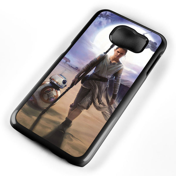 Star Wars the Force Awakens Rey Samsung Galaxy S6 Case Cover ISVA568