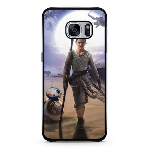 Star Wars the Force Awakens Rey Samsung Galaxy S7 Case Cover ISVA568