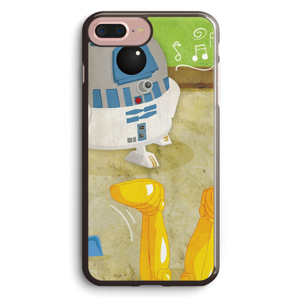 Star Wars Babies Inspired by R2 D2 and C 3po Apple iPhone 7 Plus Case Cover ISVF432