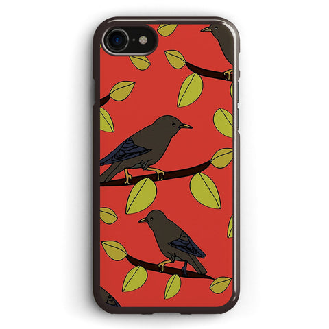 Starlings in Spring Apple iPhone 7 Case Cover ISVH219