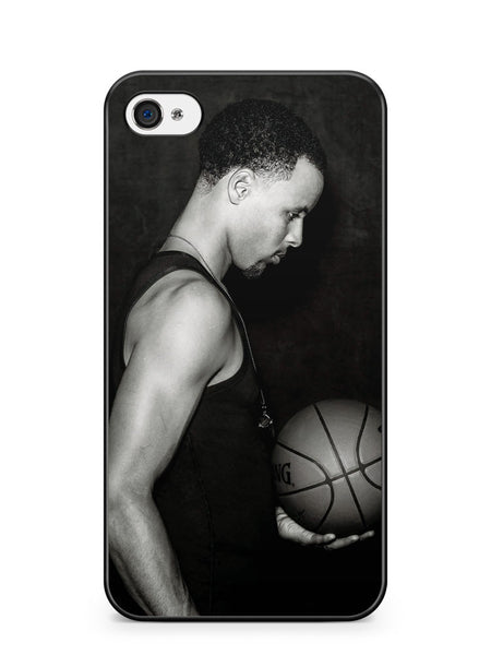Stephen Curry Black and White Apple iPhone 4 / iPhone 4S Case Cover ISVA340