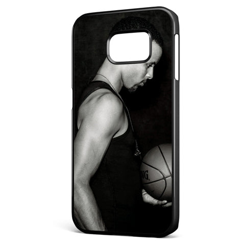 Stephen Curry Black and White Samsung Galaxy S6 Edge Case Cover ISVA340