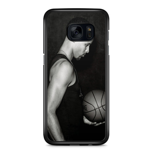 Stephen Curry Black and White Samsung Galaxy S7 Edge Case Cover ISVA340
