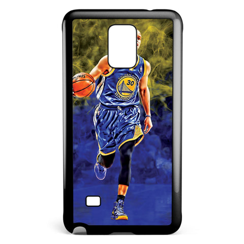 Stephen Curry Golden State Warriors Samsung Galaxy Note 4 Case Cover ISVA343