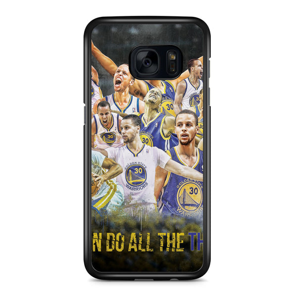 Stephen Curry I Can Do All Things Samsung Galaxy S7 Edge Case Cover ISVA344