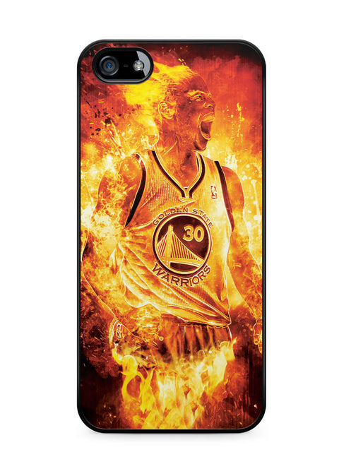 Stephen Curry on Fire Apple iPhone 5c Case Cover ISVA342