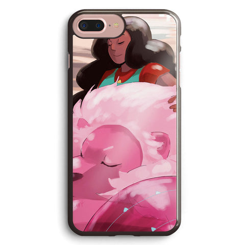 Stevonnie and Lion Steven Universe Apple iPhone 7 Plus Case Cover ISVH604