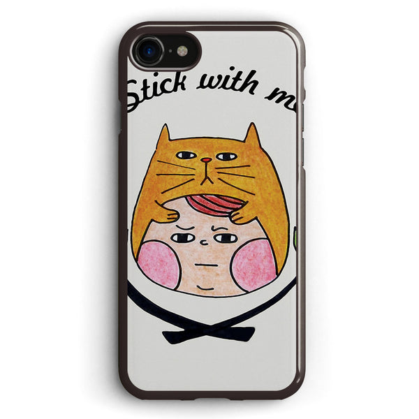 Stick with Me Apple iPhone 7 Case Cover ISVE767