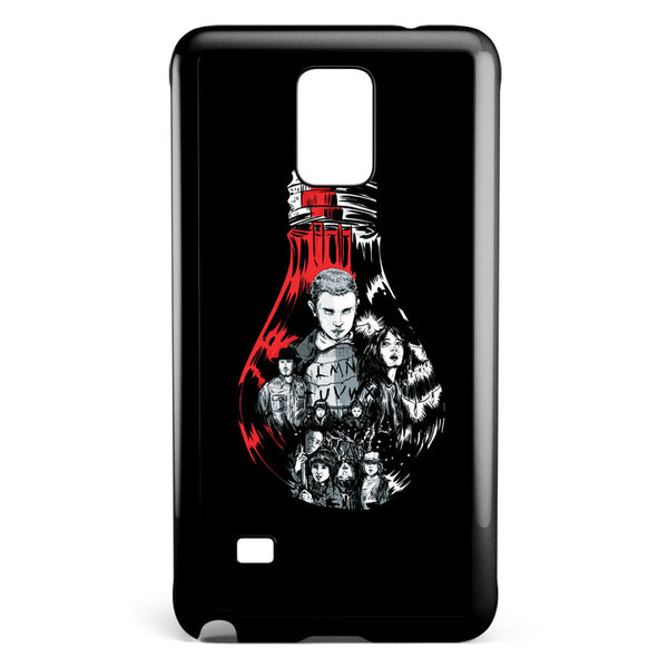 Stranger Things Bulb Samsung Galaxy Note 4 Case Cover ISVA620