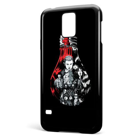 Stranger Things Bulb Samsung Galaxy S5 Case Cover ISVA620