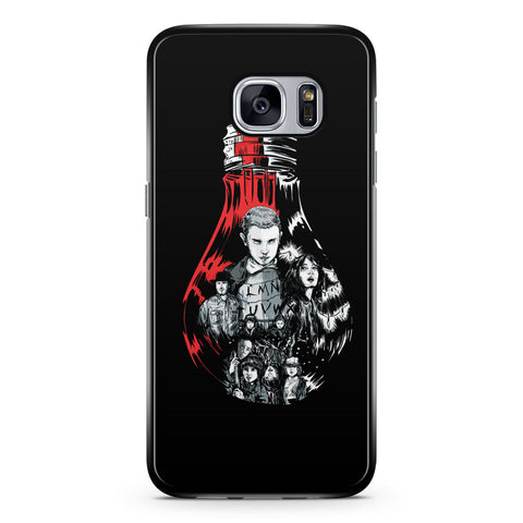 Stranger Things Bulb Samsung Galaxy S7 Case Cover ISVA620