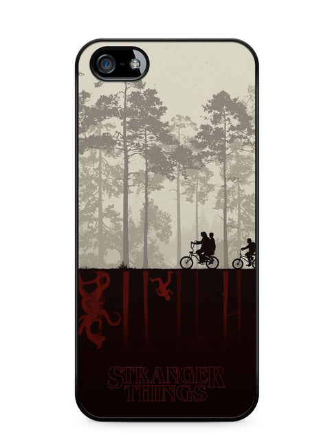 Stranger Things Cycling Apple iPhone 5c Case Cover ISVA616